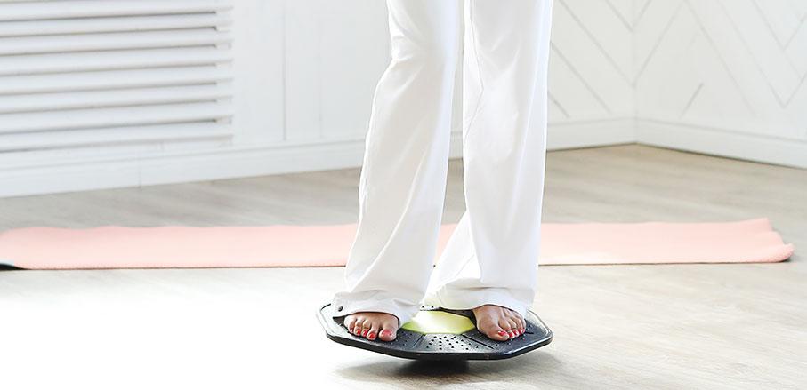 Träning på balansplatta – för vem, hur och varför?